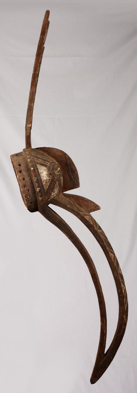 Masque Nuna de 167 cm de longueur. Originaire duBurkina Faso. Ant